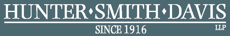 Hunter, Smith, & Davis Law Logo